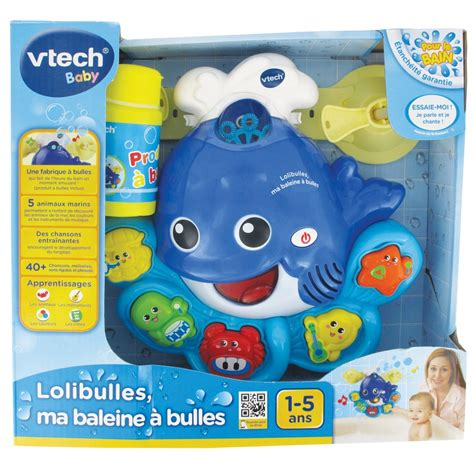 si鑒e de bain vtech baleine 224 bulles lolibulles jouets de bain 1er 226 ge vtech
