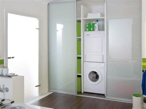schrank für waschmaschine und trockner übereinander wohin mit der waschmaschine im bad my lovely bath