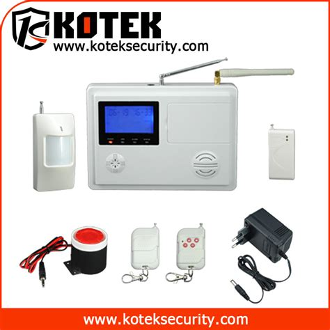 best wireless auto home security alarm system kt q7