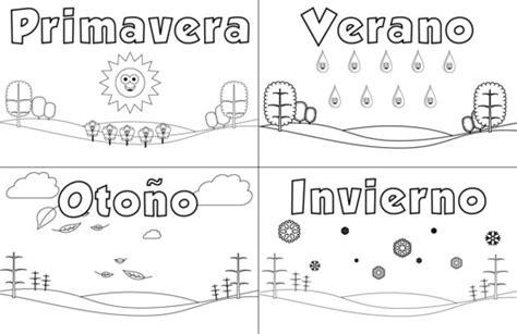 imagenes para colorear las estaciones del año imagenes de las estaciones del a 241 o para colorear