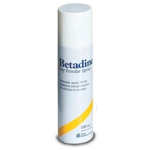 Betadine Powder Spray betadine anti microbial powder spray available to buy