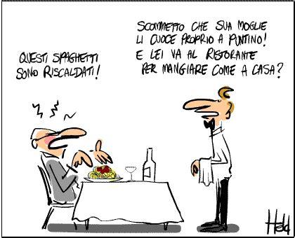 ufficio legale telecom italia aduc vignetta la qualita cibo ai ristoranti