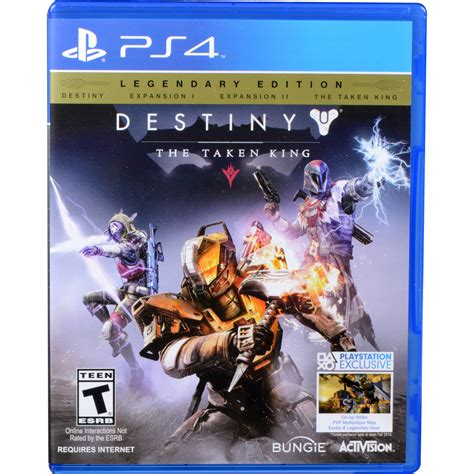 Destiny The Taken King Ps4 Reg 3 activision destiny the taken king legendary edition ps4 87442