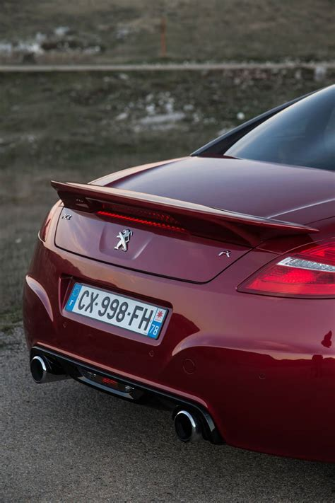 peugeot rcz rear peugeot cars news pumped up rcz r launched from 68 990
