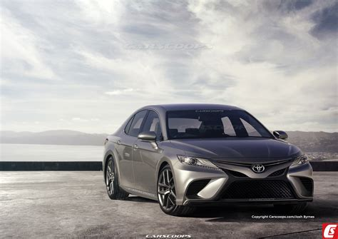 Future Cars 2018 by Future Cars 2018 Toyota Camry Looks Desirable Carscoops
