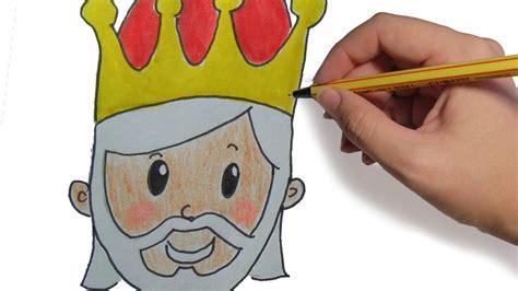 imagenes reyes magos para niños como dibujar a los reyes magos melchor paso a paso facil
