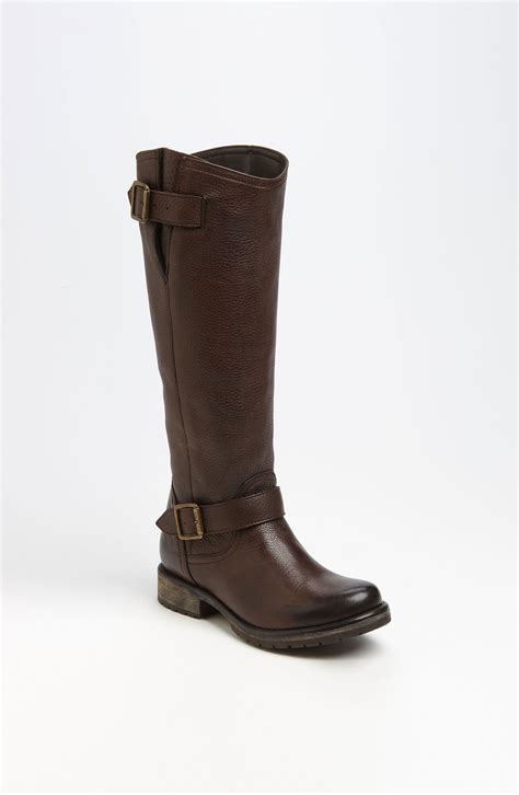 steve madden fairmont boot in brown brown leather lyst