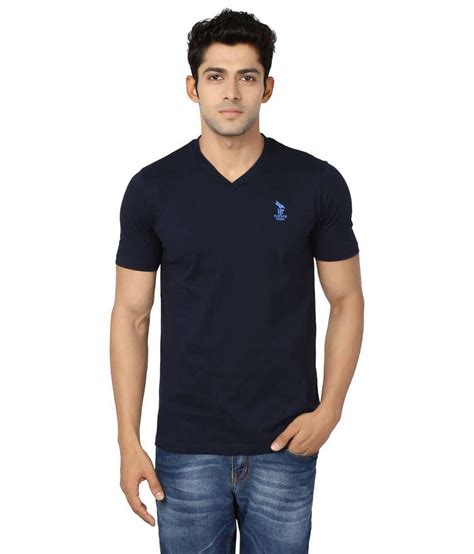 Navy Vneck Sleeve Tshirt Cotton flicker hoods navy cotton half sleeve v neck t shirt buy flicker hoods navy cotton half sleeve