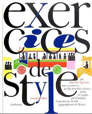 exercices de style saint henri les exercices de style