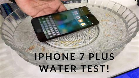 iphone   water test  waterproof youtube
