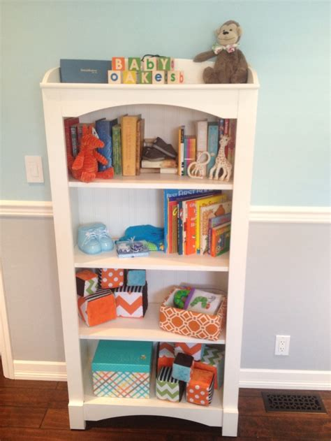 nursery bookshelf adding to josh s to make list