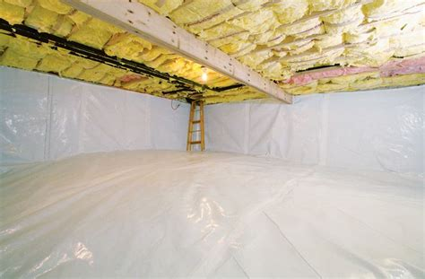 what s the best way to insulate crawl space walls