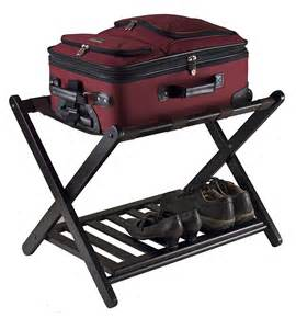 new winsome reese luggage rack shelf storage stand bedroom
