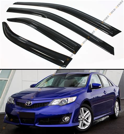 Toyota Camry Visor Mugen 3d Style Smoked Window Visor Vent Shade For 2012