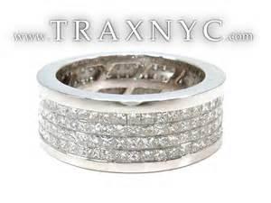 mens white gold diamond wedding bands