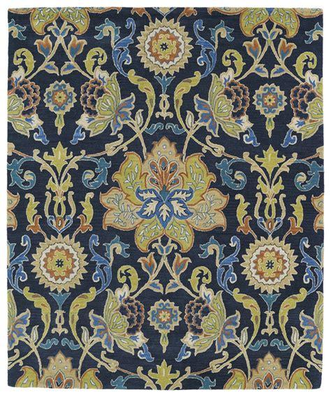 area rugs navy blue kaleen taj taj02 22 navy blue area rug