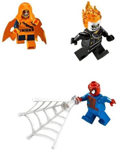 Lego Marvel Heroes 76058 Spidermanghost Rider Team Up Set lego marvel heroes spider ghost rider team up 76058 in stock