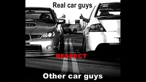 Car Guy Meme - real car guys respect other car guys shop memes