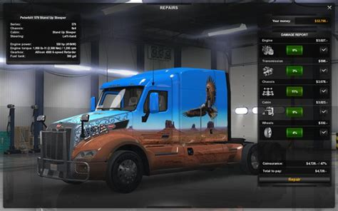 repairing and modifying the truck driving your truck across the states american truck