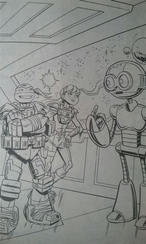 ninja turtles april coloring page tmnt leo april and honeycutt coloring page by