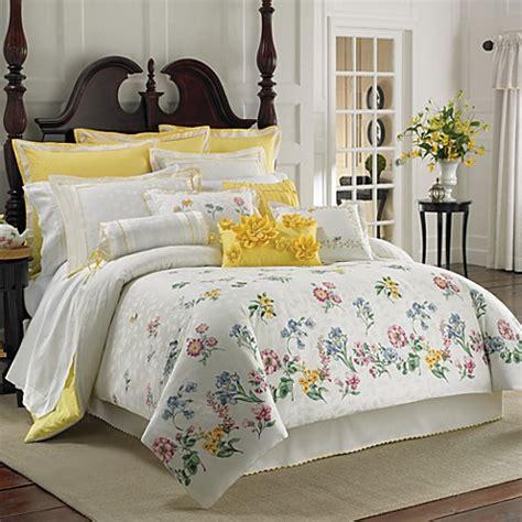 lenox bedding lenox 174 flowering meadow comforter set bed bath beyond