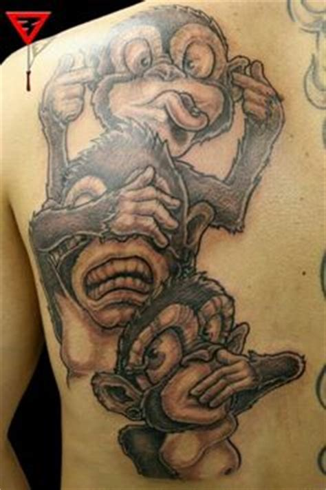 evil and love tattoo hear no evil see no evil speak no evil tattoos that i