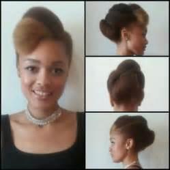 Galerry elegant natural black hairstyles