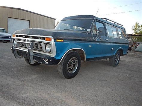 Ford Suburban by 1976 Ford B 100 2dr Suburban Original Made In
