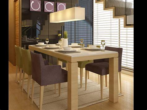 imagenes de mesas minimalistas modelo 3d ultra realista de las mesas y sillas modernas