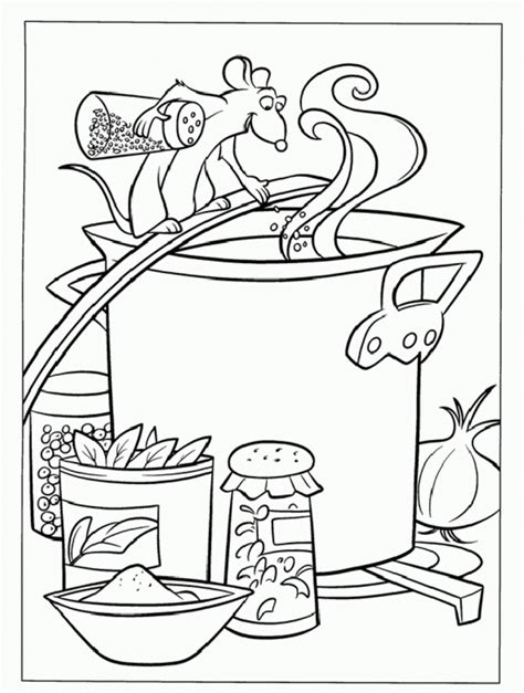 Coloring Chili Soup Coloring Pages Soup Coloring Pages