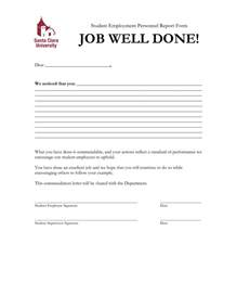 Appreciation Letter To Employee For Job Well Done 10 Best Images Of Letter Of Good Work Performance