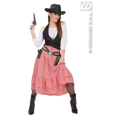 Wild Western Cowgirl Costume for Ladies SANC58452