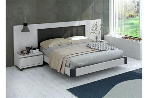 Lit Contemporain Chevets & Tête de lit originale   Novomeuble