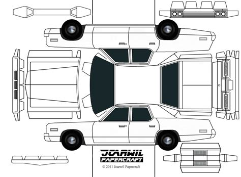 How To Make A Papercraft Car - jcarwil papercraft 74 dodge monaco finally here s your
