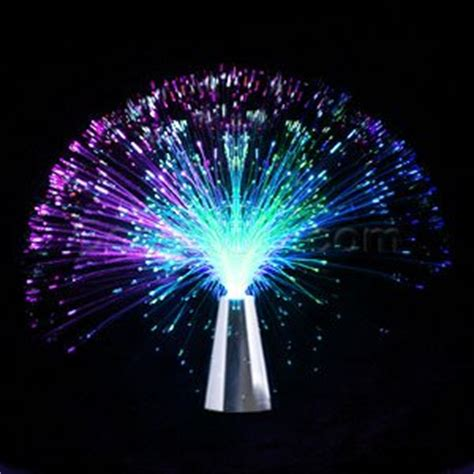 amazon com led fiber optic centerpiece 13 quot toys games