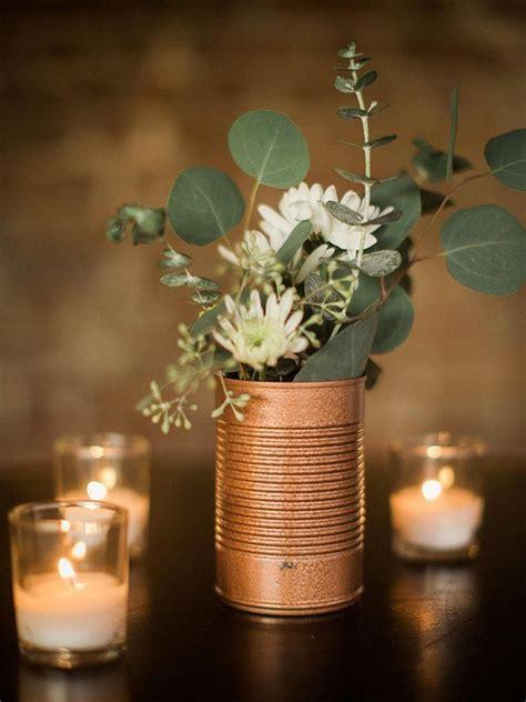 Diy Wedding Flower Ideas by Trending 12 Industrial Wedding Centerpiece Ideas For 2018