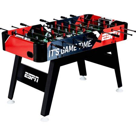 Soccer Table by Espn 54 Inch Foosball Soccer Table Walmart
