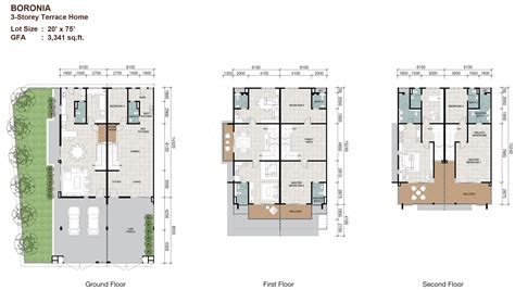 layout plan in malay sunway cassia terrace malaysia properties sunway