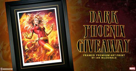 Printed Giveaways - dark phoenix print giveaway sideshow collectibles