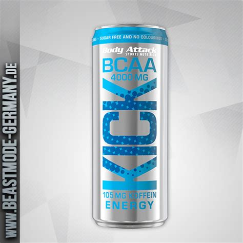 energy drink attack attack bcaa kick energy 330ml inkl 0 25 pfand