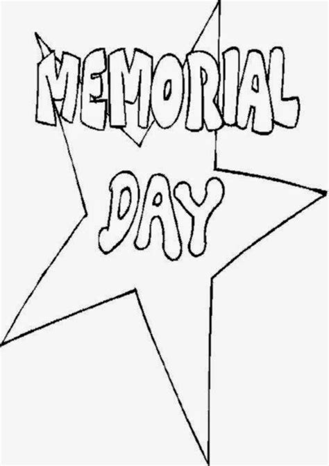 memorial day pictures to color free coloring pictures