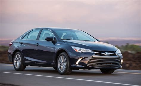 toyota camry 2015 car and driver