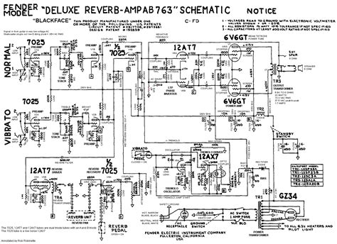 stage center reverb schematic how the ab763 works