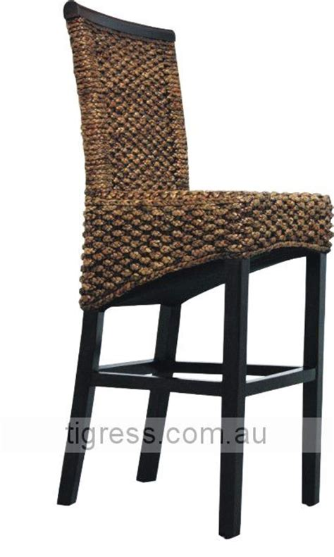 Wicker Kitchen Bar Stools by New Quot Tahiti Quot Bali Balinese Water Hyacinth Wicker Rattan