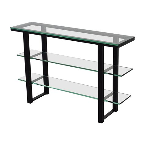 glass top foyer table 90 glass and black foyer table tables