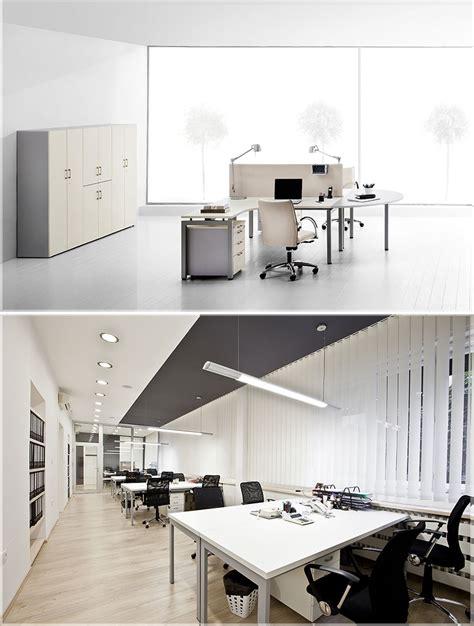 contoh desain meja kerja contoh konsep desain kantor minimalis modern