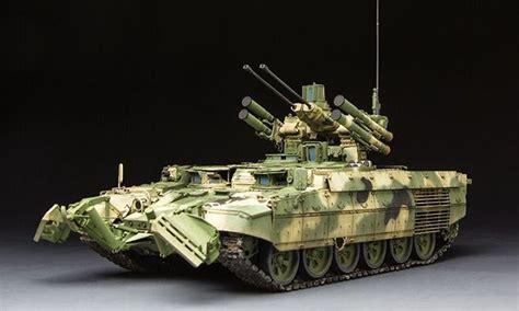 Tiger 135 Terminator 2 russian bmpt terminator 1 35 kuivalainen pienoismalleja