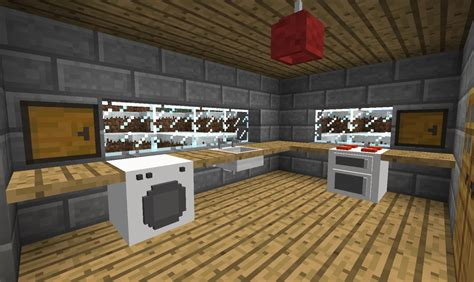Minecraft Furniture Kitchen by Add Function Furniture With The Jammy Mod Mods For