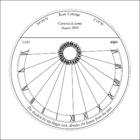 equatorial sundial template image gallery sundials layout