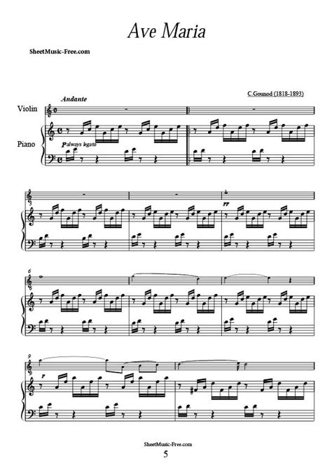 free printable sheet music ave maria ave maria gounod sheet music sheet music free